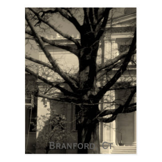 Biblioteca, Branford, cartão do Ct