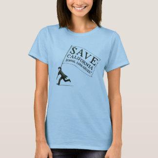 Bibliotecas escolares cabidas de CA das economias Camiseta