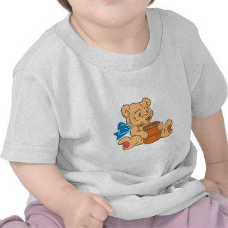 Bichinho de pelúncia teddy bear camiseta