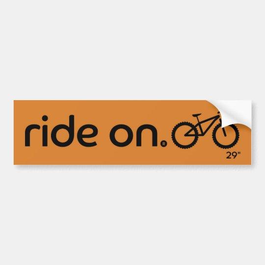 """Bicicleta 29"""" de On® Mouantin do passeio Adesivo Para Carro"""