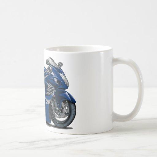 Bicicleta azul escuro de Hayabusa Canecas