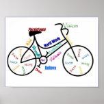 Bicicleta, bicicleta, ciclo, esporte, Biking, insp Pôsteres