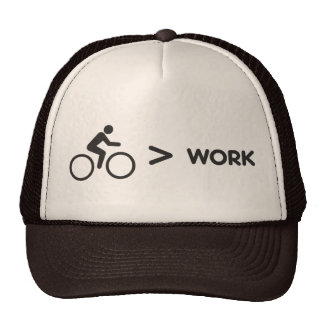 Bicicleta > boné do trabalho