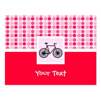 Bicicleta bonito cartão postal