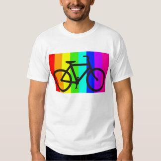 "bicicleta colorida "".png tshirts"