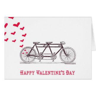 Bicicleta construída para o cartão de dois dias