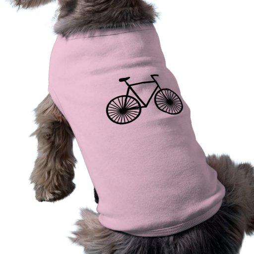 Bicicleta cor-de-rosa roupas para caes