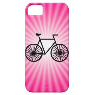 Bicicleta cor-de-rosa capas para iPhone 5