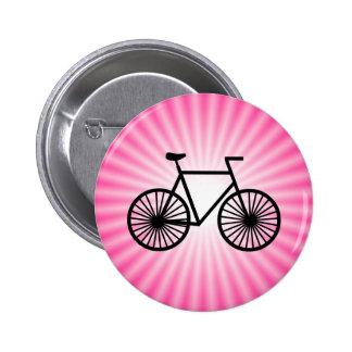 Bicicleta cor-de-rosa pins