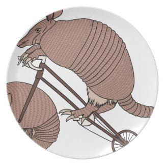 Bicicleta da equitação do tatu com roda do tatu prato