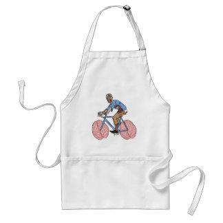 Bicicleta da equitação do zombi com rodas do avental