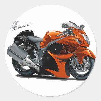 Bicicleta da laranja de Hayabusa Adesivo Redondo