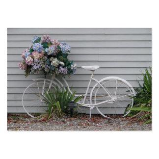 Bicicleta da praia cartão de visita grande