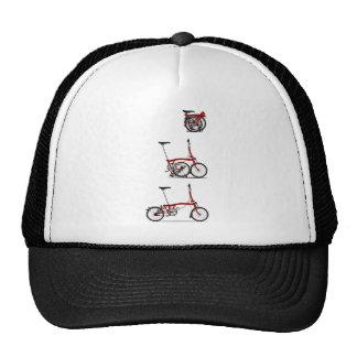 Bicicleta de dobramento boné