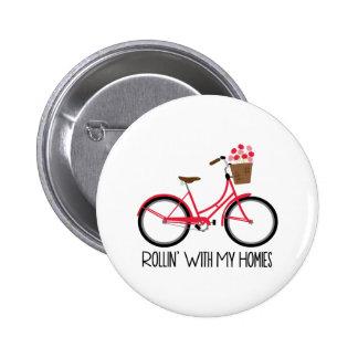 Bicicleta de Rollin Bóton Redondo 5.08cm