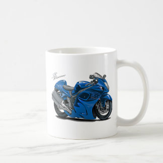 Bicicleta do azul de Hayabusa Caneca