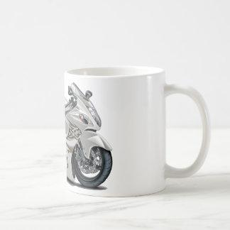 Bicicleta do branco de Hayabusa Canecas