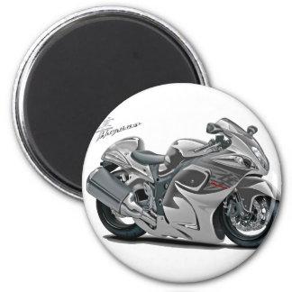 Bicicleta do cinza de Hayabusa Imãs De Geladeira