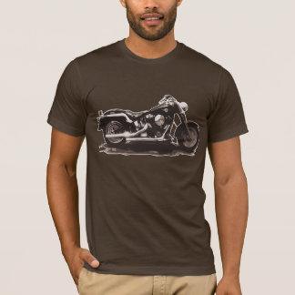 Bicicleta do clássico do vintage de Brown Camiseta