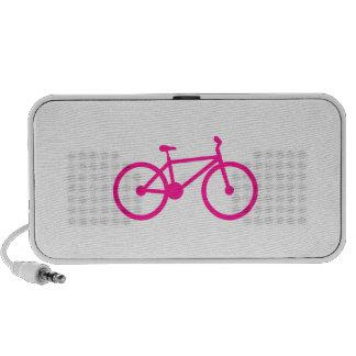 Bicicleta do rosa quente bicicleta caixinha de som portátil