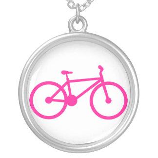 Bicicleta do rosa quente bicicleta pingente