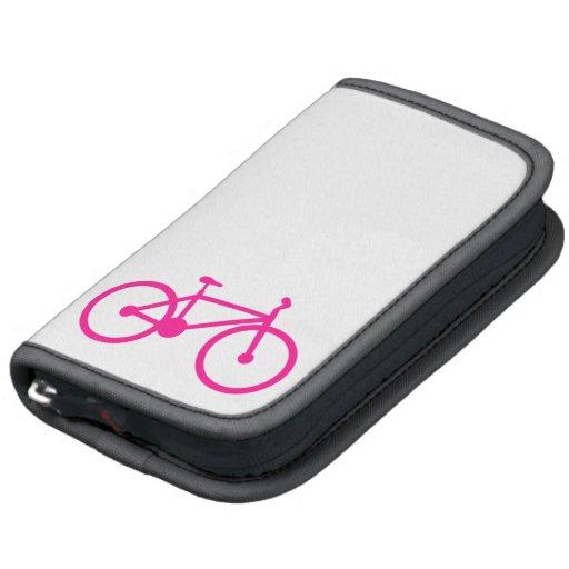 Bicicleta do rosa quente; bicicleta agendas