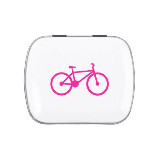 Bicicleta do rosa quente; bicicleta latinhas para personalizar