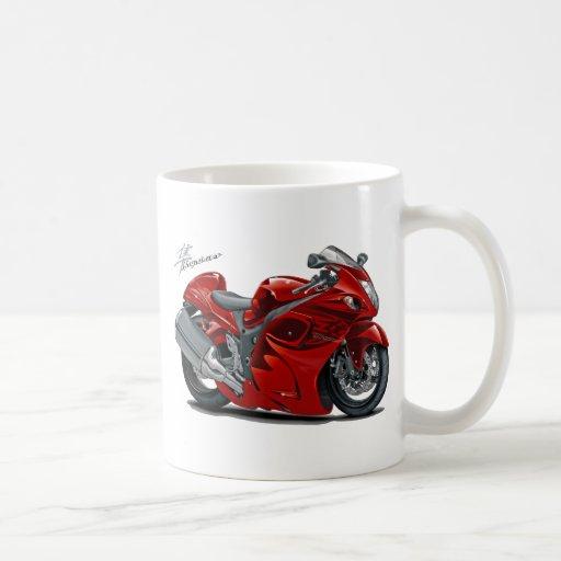 Bicicleta do vermelho de Hayabusa Caneca