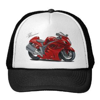 Bicicleta do vermelho de Hayabusa Bonés