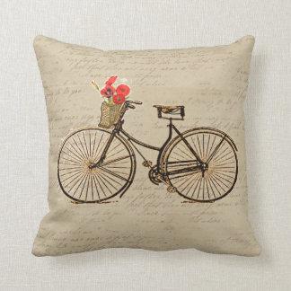 Bicicleta do vintage almofada