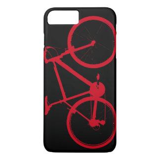 bicicleta vermelha, dando um ciclo capa iPhone 7 plus