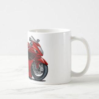 Bicicleta Vermelho-Preta de Hayabusa Canecas