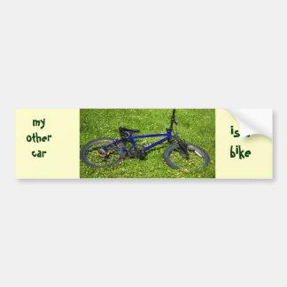 bicycle, meu outro carro, é abike adesivo para carro