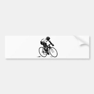 Bicyclist/ciclista/cavaleiro Adesivo Para Carro