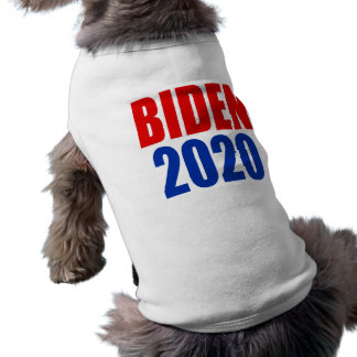 """BIDEN 2020 "" CAMISA SEM MANGAS PARA CACHORRO"