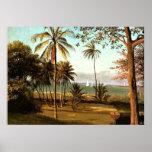 Bierstadt - cena de Florida Poster