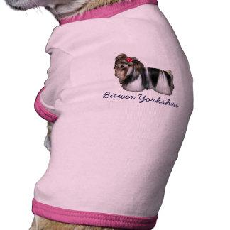Biewer Biewer Yorkshire Yorkshire Terrier Camiseta Para Cães