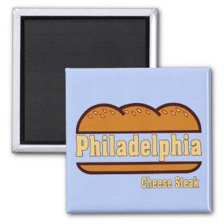 Bife do queijo de Philly Imã