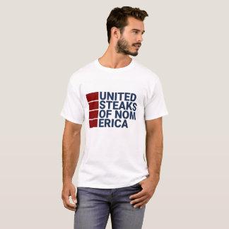 Bifes unidos do nomerica camiseta