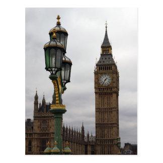 Big Ben - Londres - cartão