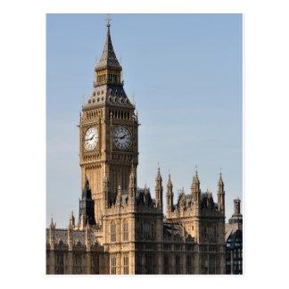 Big Ben Londres Cartão Postal