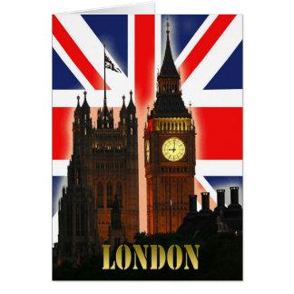 Big Ben Londres Inglaterra Cartão