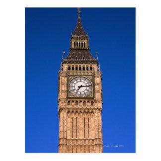Big Ben no capital britânico Cartão Postal