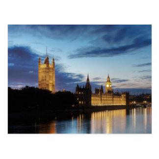Big Ben no cartão da noite