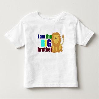 Big brother bonito com o t-shirt da criança do camiseta infantil