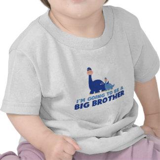 big brother do dinossauro a ser azul NOVO T-shirt