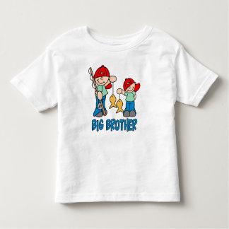 Big brother dos amigos da pesca camiseta infantil