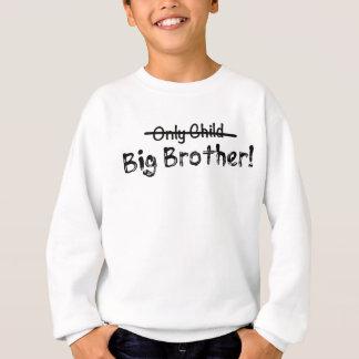 Big brother (filho único cruzado para fora) bonito agasalho