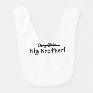 Big brother (filho único cruzado para fora) bonito babadores