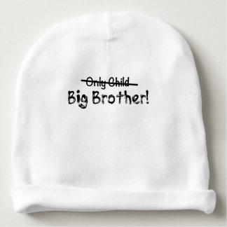 Big brother (filho único cruzado para fora) bonito gorro para bebê